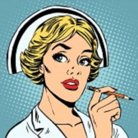 Verpleegkundige tas Pop-Art NOTE