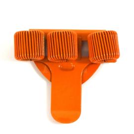 Pennenhouder clip (3 pennen) oranje