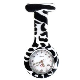 Nursewatch Zwart - Wit gevlekt clip