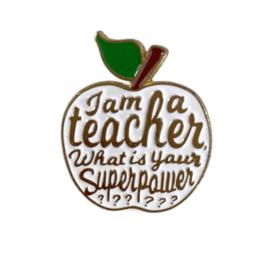 Speld Teacher - Superpower - Wit