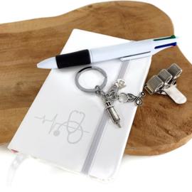 Schrijf & Blijf set voor zorgprofessionals - WIT
