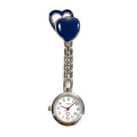Verpleegkundige horloge metal hart Petrol