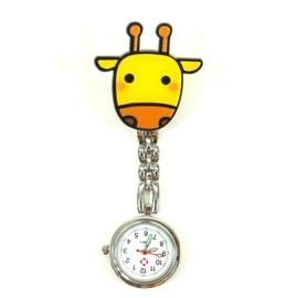 Verpleeghorloge Beestenboel Giraffe