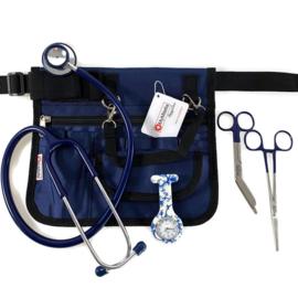 Verpleegkundige uitrusting set Blauw