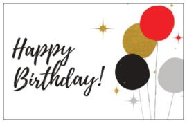 Cadeaukaartje: Happy Birthday!