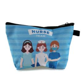 Verpleegkundige-tasje TEAMWORK voor tools & cosmetica