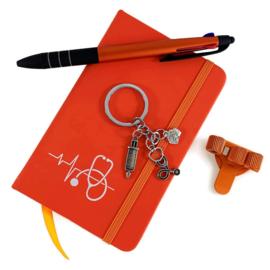 Schrijf & Blijf Set voor zorgprofessionals - ORANJE
