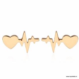 OORBELLEN HEART & HEARTBEAT