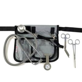 Verpleegkundige uitrusting set Grijs