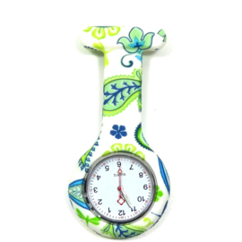 Verpleegster horloge Paisly clip