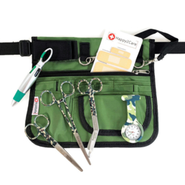 Large Zorgset Heuptas + accessoires groen