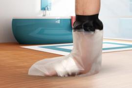 Douchehoes kind/tiener voet (30 CM)