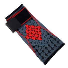 Elastische elleboog band- brace grijs-rood