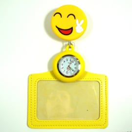 Funny Badge + Nursewatch Happy Peace