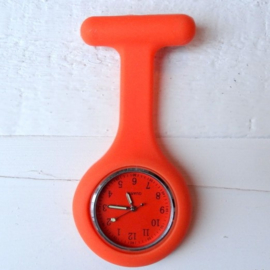 Verpleegstershorloge Ton Sur Ton Oranje
