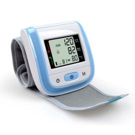 Bloeddrukmeter pols automatisch Blauw