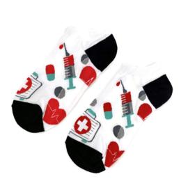 H2C zorg ENKEL sokken - arts & assistent