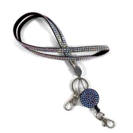 Zipper- jojo- & keycord strass parelmoer