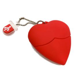 USB Stick Hartje rood 16 GB