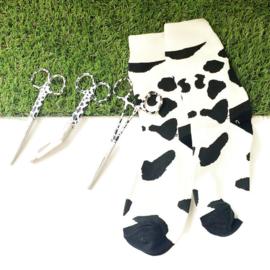 Koeienprint set - scharenset & sokken