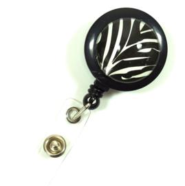 Badge ID - Jojo Zebra print