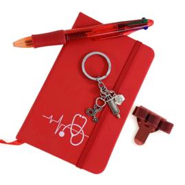 Schrijf & Blijf Set voor zorgprofessionals - ROOD
