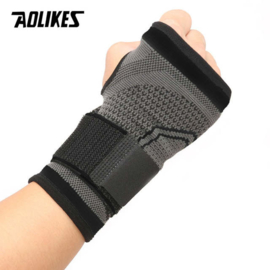 Pols bandage - Brace - duimondersteuning grijs/zwart
