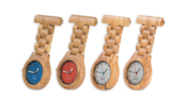 Verpleegstershorloge hout