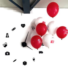 Feest Ballonnen - zorg  medisch & verpleging 32 stuks