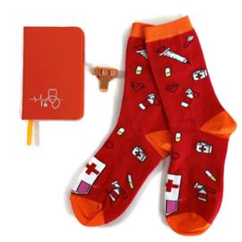 Socks & Notes - Oranje