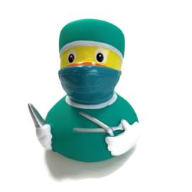Badeend - Chirurg - operatieassistent groen