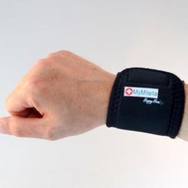 MyMitella Pols steun - polsbandage zwart basic