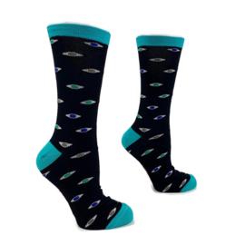 H2C Oogheelkunde sokken - Eyes for you (maat 41 - 46)