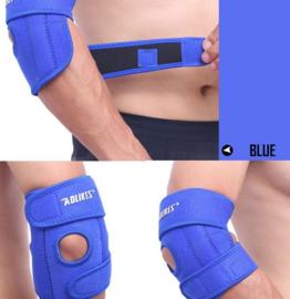 Elleboogbrace comfort + baleinen Blauw