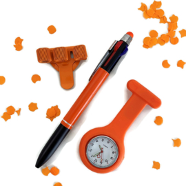 Oranje Zorgoutfit - Happy Time