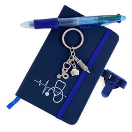 Schrijf & Blijf Set voor zorgprofessionals - DONKERBLAUW