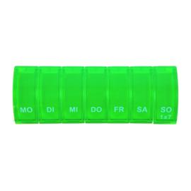 Pillenbox 7 dagen recht colori groen