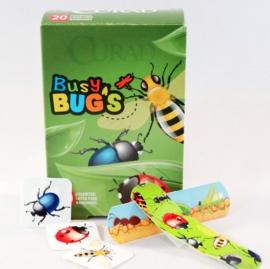 Hippe pleisters insecten in doosje