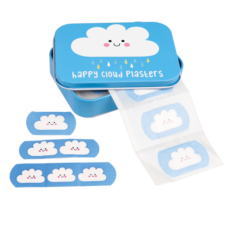 Pleisters in blikje - Happy Cloud - Rex London