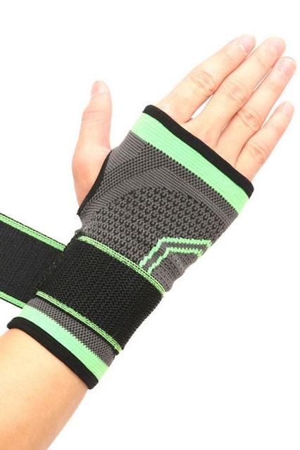 Pols bandage - Brace - duimondersteuning grijs/groen