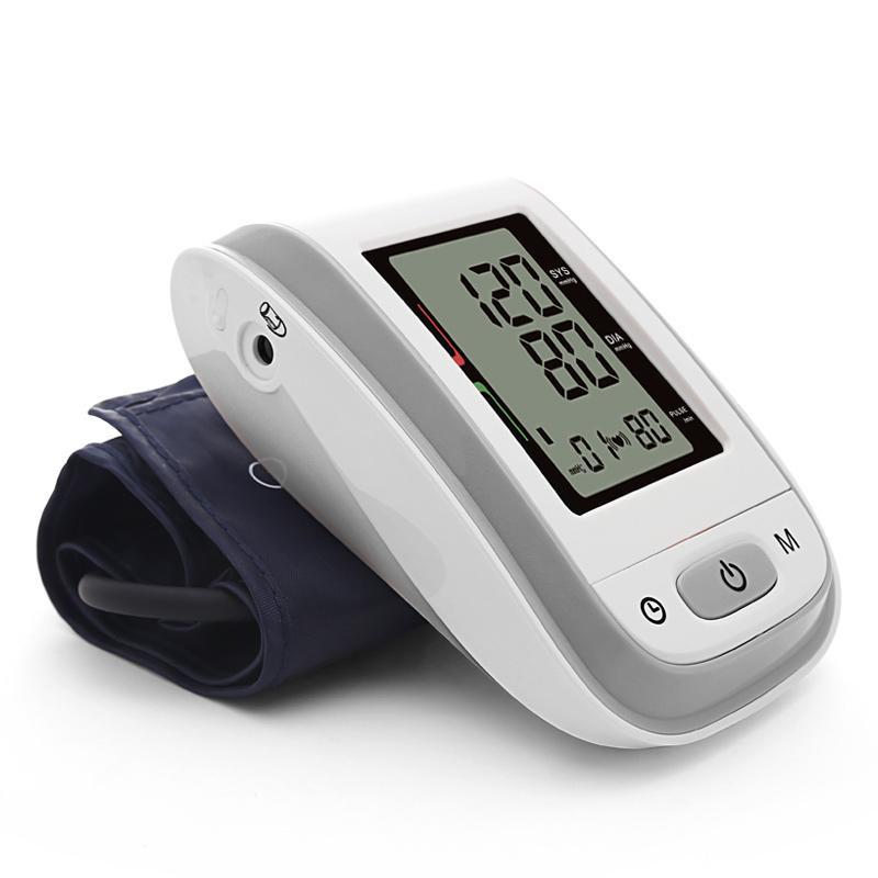 Bloeddrukmeter bovenarm automatisch Grijs