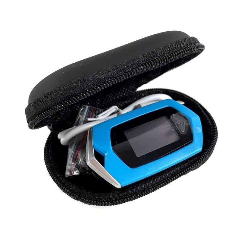 Osport Blauwe Saturatiemeter USB-oplaadbaar + tasje