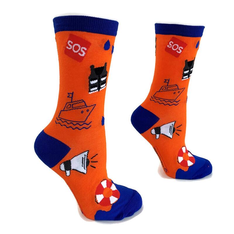 Happy2Wear Reddingsbrigade sokken