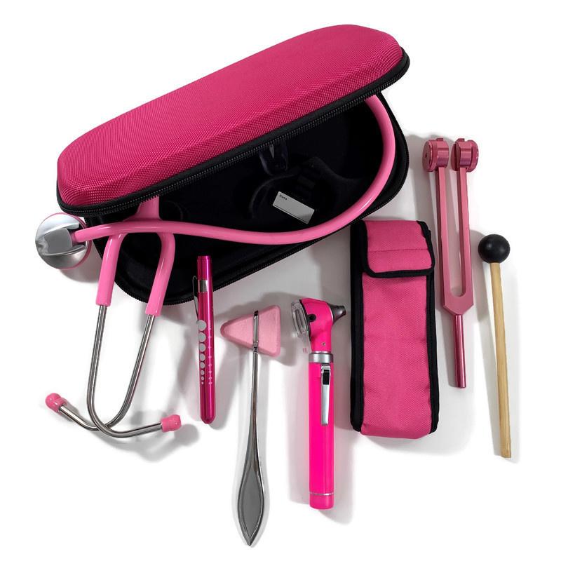 Stethoscoop + instrumenten  medici - pink