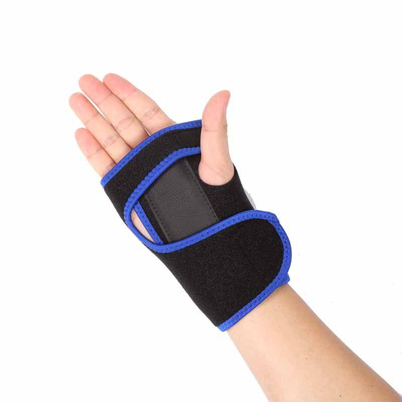 CTS polsbrace met (nacht) spalk Blauw/ Zwart