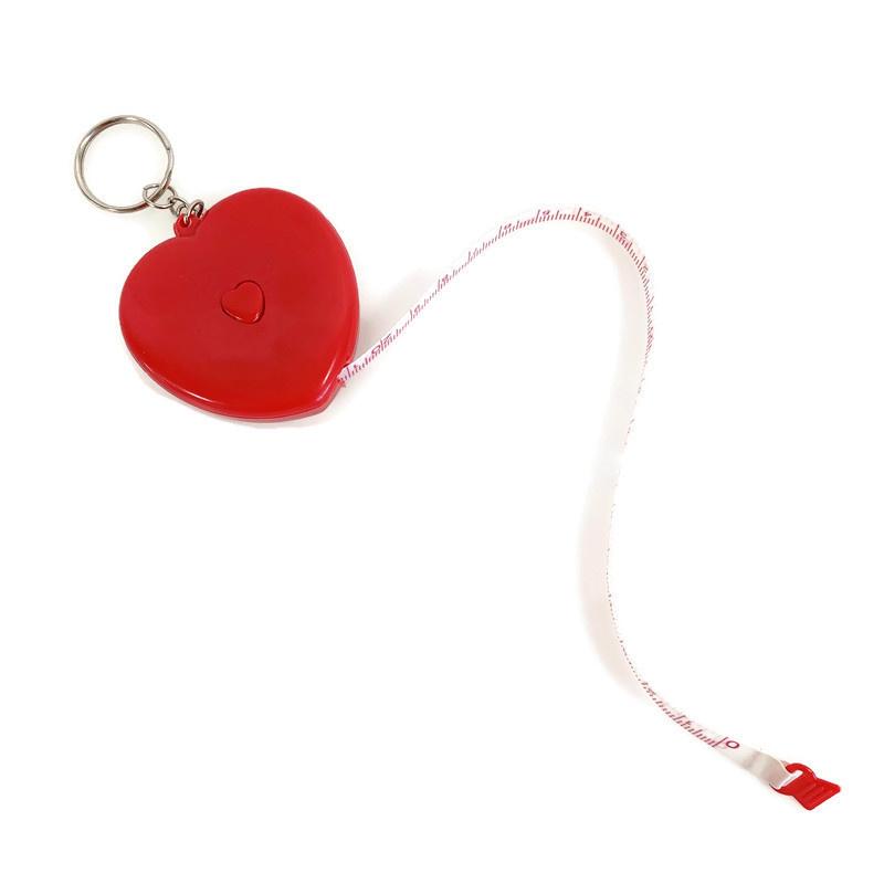 Meetlint - Rolmaat in hartvorm