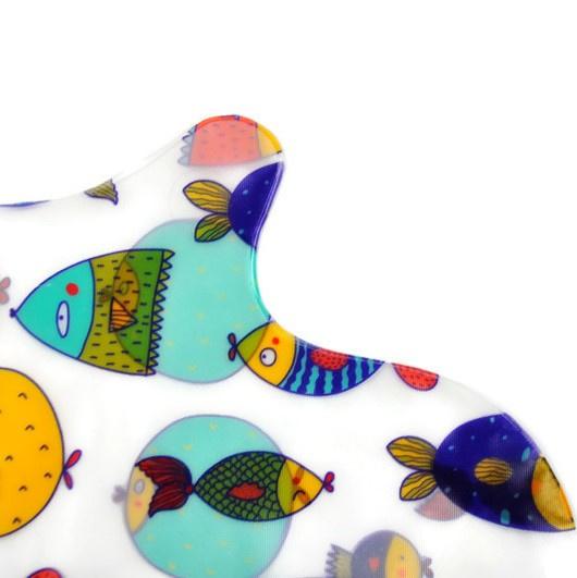 Kinder Douchehoes Vissen - hand/arm - medium