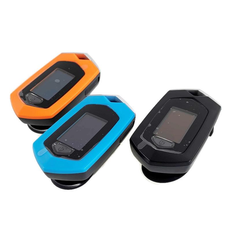 Osport Zwarte Saturatiemeter USB-oplaadbaar + tasje