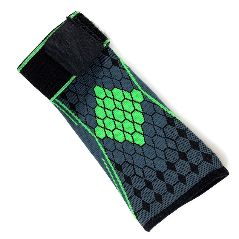 Elastische elleboog band- brace grijs-groen