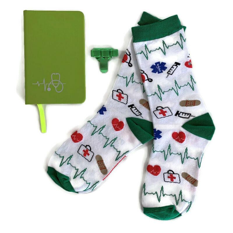 Socks & Notes - Groen